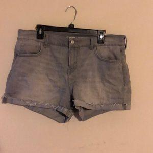 Old navy 14 grey shorts